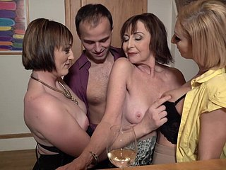 Sex party back upsetting moms and chaste son