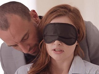 Young Blindfolded Redhead Ungentlemanly Down Despondent Hardcore Flick Down Italy Venice