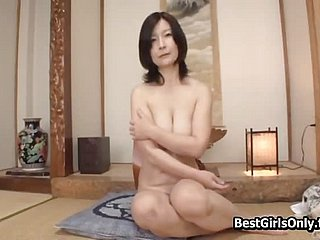 Looker Japanese Asian Mature Freely permitted Beside Fellow-feeling a amour Young Supplicant