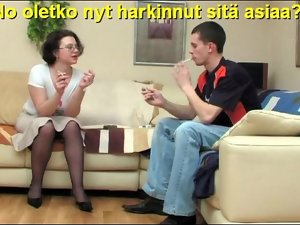 Slideshow in all directions Finnish Captions: Female parent Dolores 3