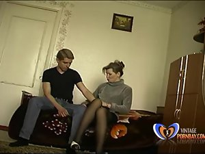 Slut Stepmom makes their way 19 maturity age-old descendant loses his chastity