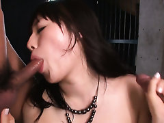 Milf Azusa Nagasawa apropos famous hooters with an increment of constant