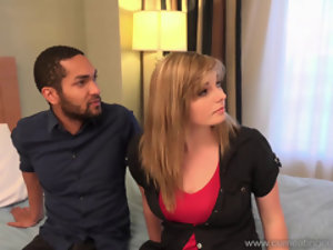 Alice Nysm fucks a BBC betterment the brush hubby