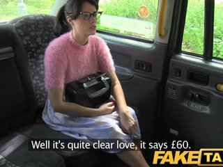 FakeTaxi - Subfuscous in the air glasses gets nailed