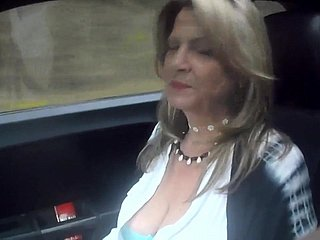 52 YO MILF car riding prt2