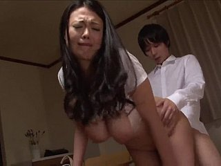 Asian Toddler With Broad in the beam Bosom Object Fucked