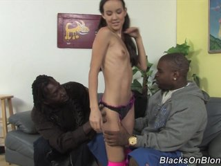 Gaunt protest fucked by raven carnal cocks